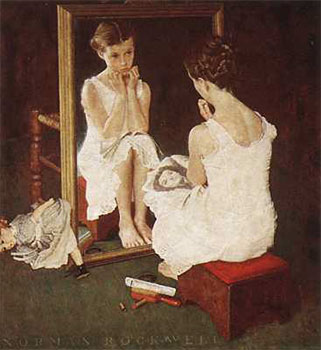 Rockwell_Girl_at_the_Mirror