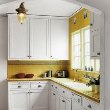 yellow tile in kitchen 2