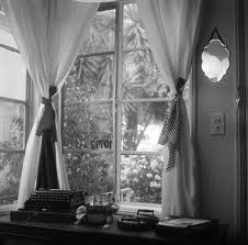 typewriter window view