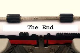 type the end