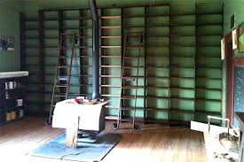 attic building bookcases