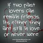 past lovers quote