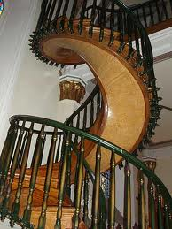 stairs swirling