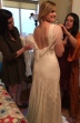 the making of the bridal gown